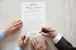 Что не может регламентировать брачный договор?